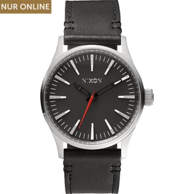 Nixon Herrenuhr Sentry 38 Leather A377 000