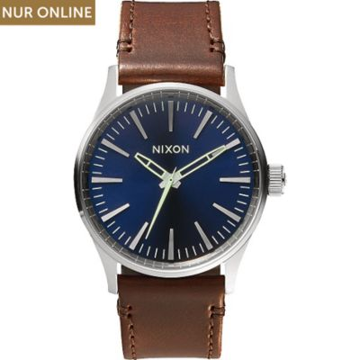 Nixon Herrenuhr Sentry 38 Leather A377 1524