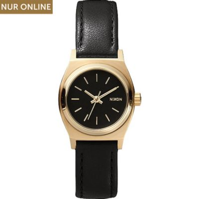 Nixon Damenuhr Small Time Teller Leather A509 010