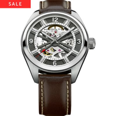 Hamilton Herrenuhr Khaki Field Skeleton H72515585