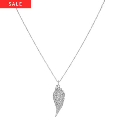 JETTE Silver Collier Angelwing 86736756