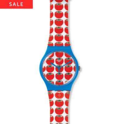 Swatch Damenuhr Tomatella SUOS102