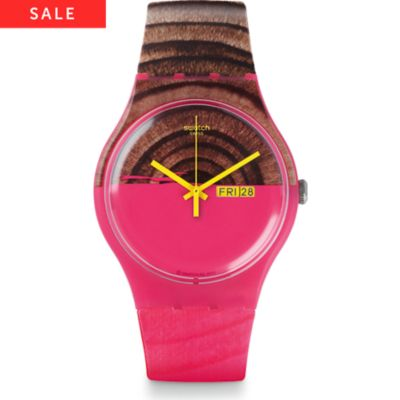 Swatch Damenuhr Woodkid SUOP703
