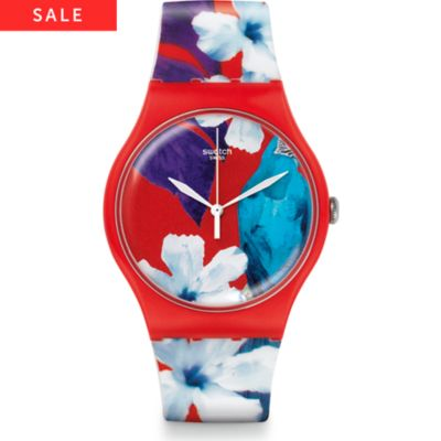Swatch Damenuhr Mister Parrot SUOR105
