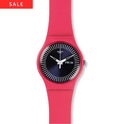 Swatch Damenuhr Berry Rail SUOP702