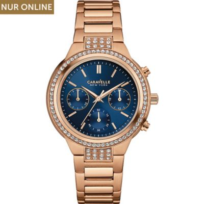 Caravelle New York Damenchronograph New Boyfriend 44L181
