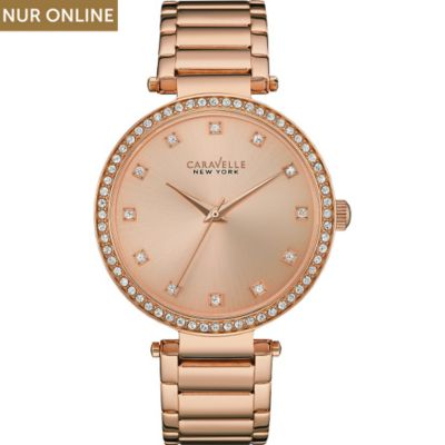 Caravelle New York Damenuhr T-bar 44L208