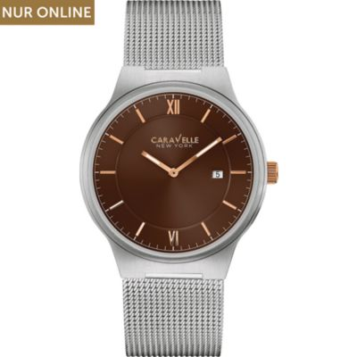 Caravelle New York Herrenuhr Dress 45B138