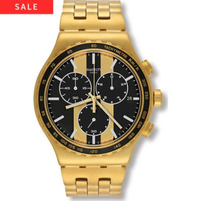 Swatch Herrenchronograph Golden Fever YVG400G