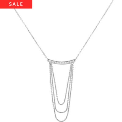 JETTE Silver Collier Forever 86881594
