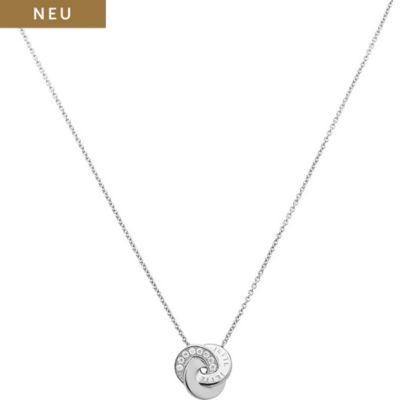 JETTE Silver Collier Circles 86914964