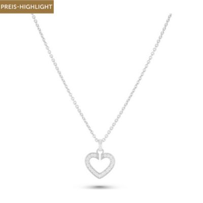 JETTE Silver Kette Sacred Heart Collection 86938308