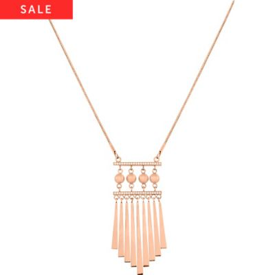 STEEL BY CHRIST Collier 86943646