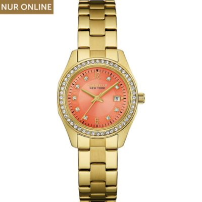 Caravelle New York Damenuhr Perfectly Petit 44M110