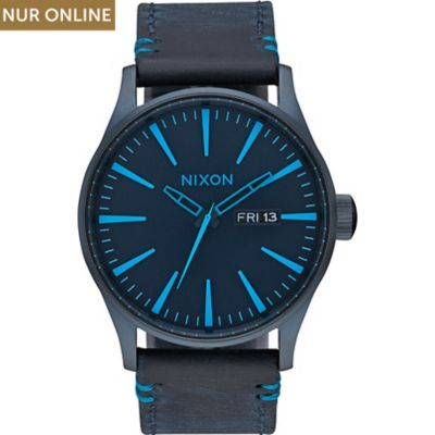 Nixon Herrenuhr Sentry Leather A105 2224