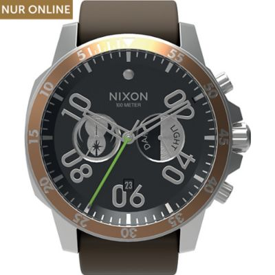 Nixon Chronograph Ranger Chrono Leather Jedi A940SW 2377
