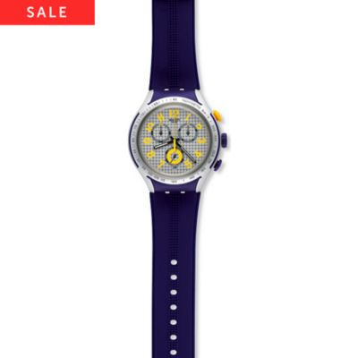 Swatch Chronograph Yellow Pusher YYS4014