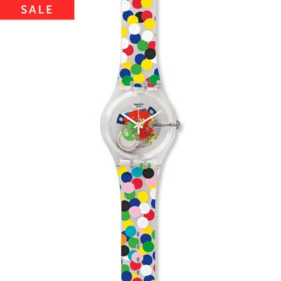Swatch Herrenuhr Spot the dot SUOZ213
