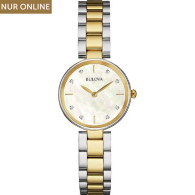 Bulova Damenuhr Diamonds 98S146