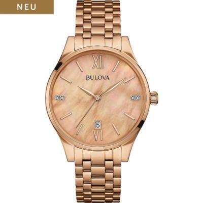 Bulova Damenuhr Diamonds 97S113