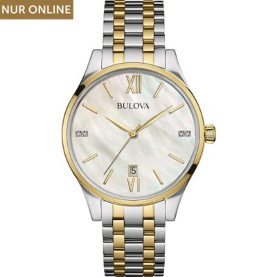 Bulova Damenuhr Diamonds 98S149