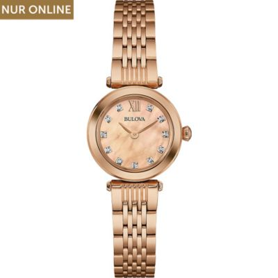 Bulova Damenuhr Diamonds 97S116