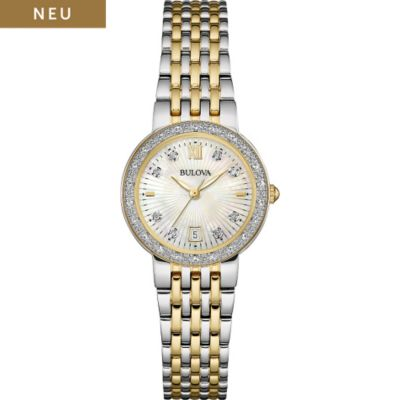 Bulova Damenuhr Diamonds 98W211