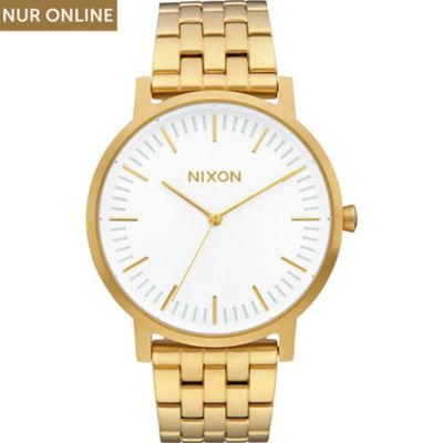 Nixon Damenuhr Porter All Gold A1057-2443-00