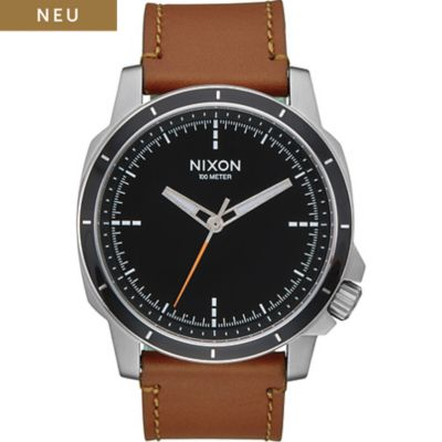 Nixon Damenuhr Ranger Ops Leather Black A914-1037-00