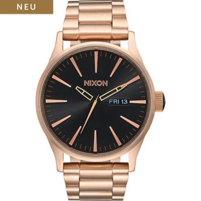 Nixon Herrenuhr Sentry SS All Rose Gold A356-1932-00
