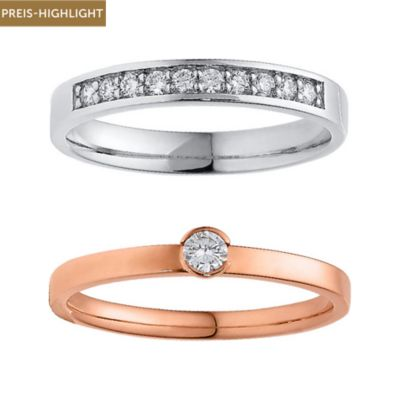 CHRIST Diamonds Ringset 5000634