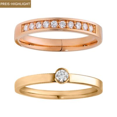 CHRIST Diamonds Ringset 5000639