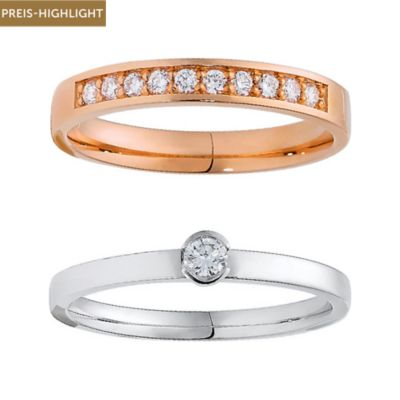 CHRIST Diamonds Ringset 5000644