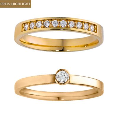 CHRIST Diamonds Ringset 5000654