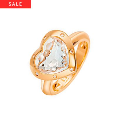 JETTE Gold MAGIC HEART Damenring 60028036