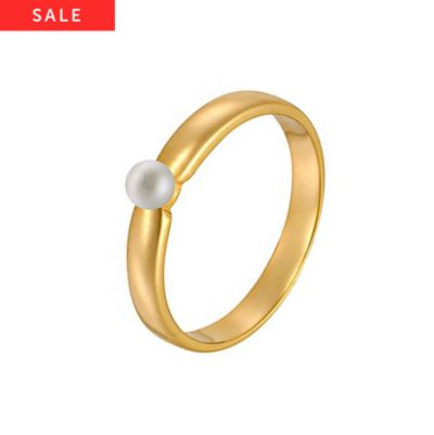 CHRIST Pearls Damenring 60033080