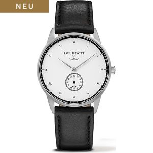 Paul Hewitt Signature Line Uhr Silber Mark I White Ocean PH-M1-S-W-2
