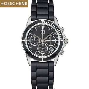 JETTE  Damenchronograph Rock Solid Black