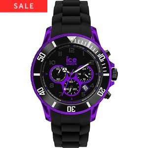 Ice-Chrono Elektrik Black- Purple Big Big CH. KPE.BB.S.12