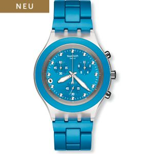 Swatch Chronograph Chrono - Full Blooded Cyan SVCK4053AG