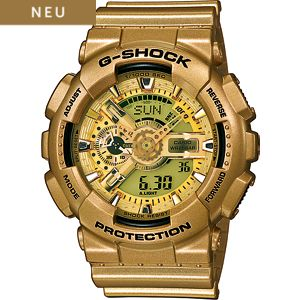 Casio Herrenuhr G-shock Style Series GA-110GD-9AER