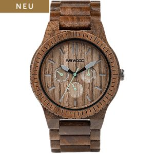 Wewood Herrenuhr Kappa Nut WW15005