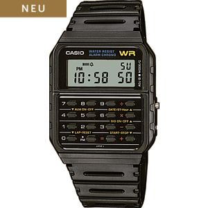 Casio Unisexuhr Collection Retro CA-53W-1ER