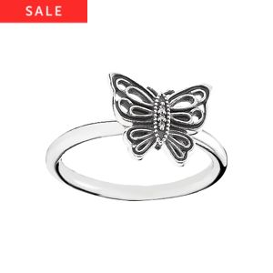 PANDORA Ring Schmetterling 190901CZ