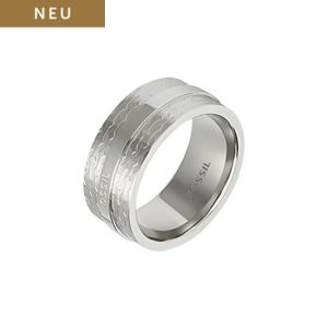 Fossil Edelstahlring JF01907040
