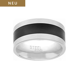 STEEL BY CHRIST Herrenring 86522276