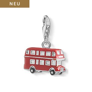 THOMAS SABO Charm London Bus 0495-007-7
