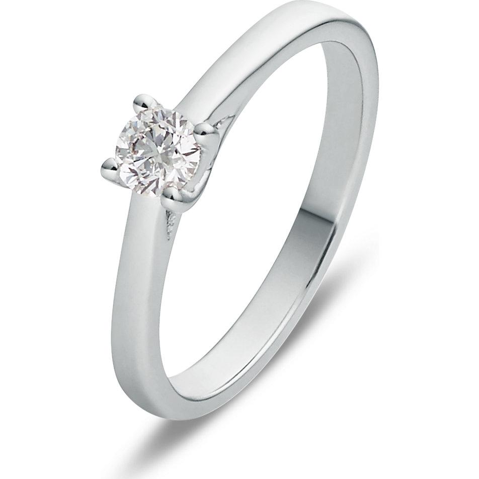 Christ Diamonds Damenring 86770865 Weissgold Gunstig Schnell