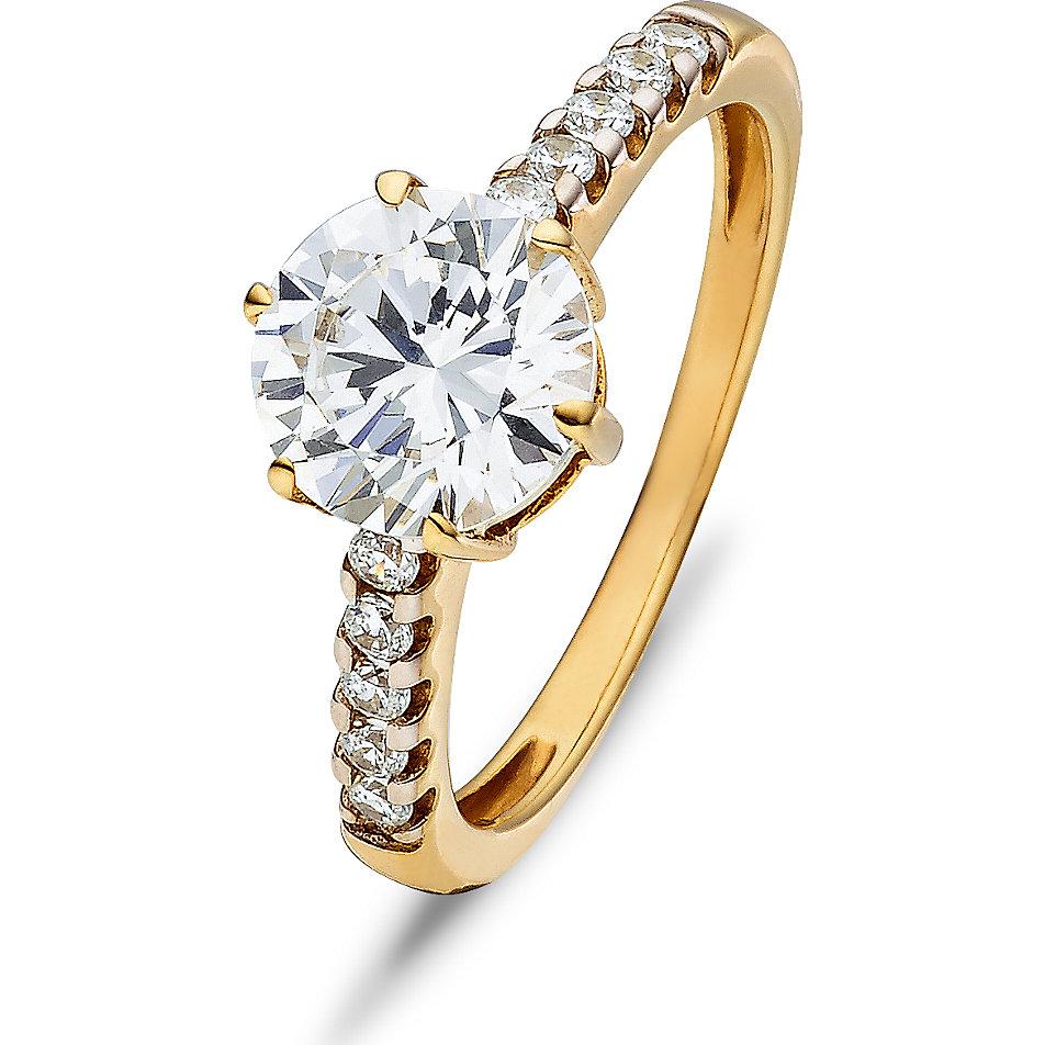 goldene ringe mit stein