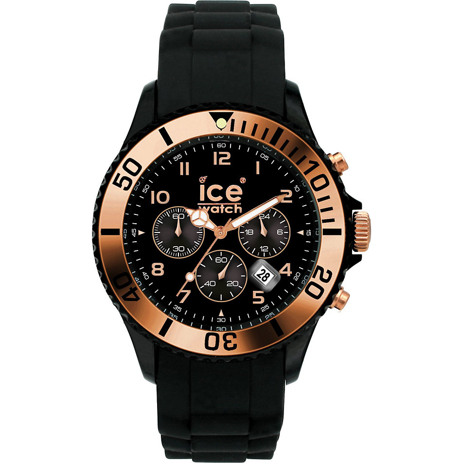 ice watch herrenchronograph rose gold big ch rg b. Black Bedroom Furniture Sets. Home Design Ideas